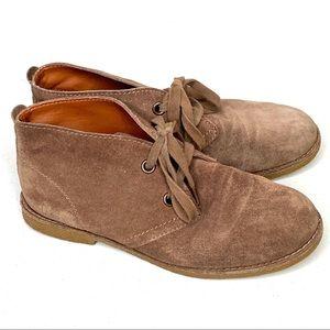 Lucky Brand Emillia Desert Chukka Booties Size 6.5